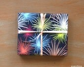 """Small Gift Wrapping Paper // Fireworks - 12.5"""" x 18.75"""""""