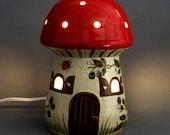 Brambleberry Mushroom Night Light Lamp