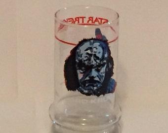 Lord Kruge Star Trek III Collector Glass