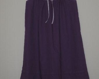 Girls Purple Nightie size 10