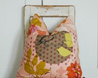 Bohemian, Farmhouse Pillows, Decorative Throw Pillows, Gold Throw Pillows, Pink Coral Pillows, Cottage Pillows, Ticking Stripe, Boho Pillows