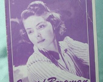 Vintage 1970s Ingrid Bergman - Album de Fotogramas - Spanish Booklet Memorabilia Photos