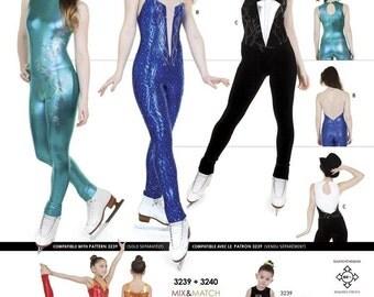 Jalie Sleeveless Unitard Gymnastics Exercise Costume Sewing Pattern 3239