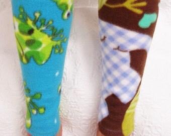 Warm Women's Fleece Leg Warmers, Handmade Dancers Warm Up Leg Covers, Yoga Leg Warmers, Handmade  Gifts for Women, Gifts for Elderly People,