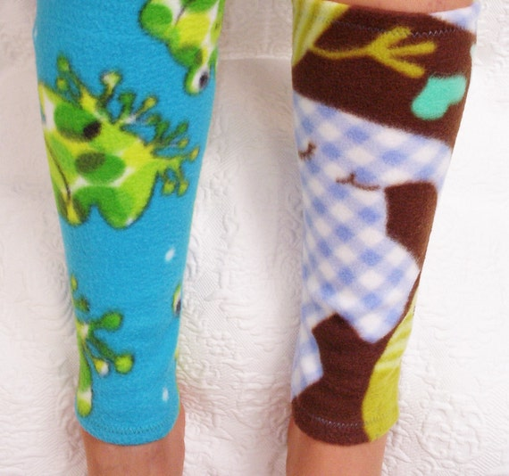 Warm Womenu0026#39;s Fleece Leg Warmers Handmade By ...