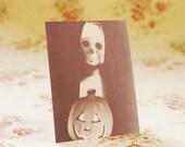 Set Of Five Zombie Nun Postcards