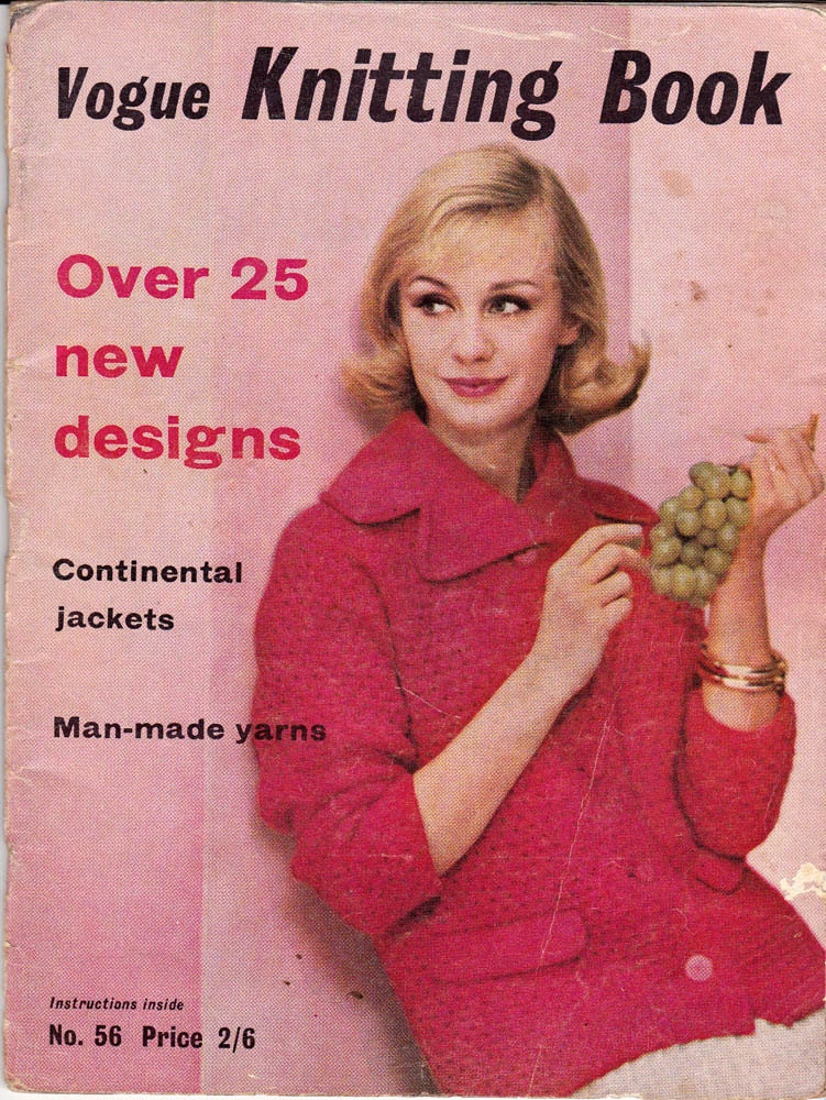 Vintage Vogue Knitting Pattern Books : 60s Vogue Knitting Book Vintage Pattern Magazine MOD Mad Men