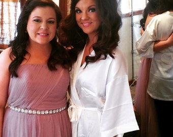 Bridesmaid Sash, Bridesmaid Belt, Maid of Honor Belt, Bridal Sash, Crystal Bridal Belt, Rhinestone Wedding Belt, Diamante Bridal Belt