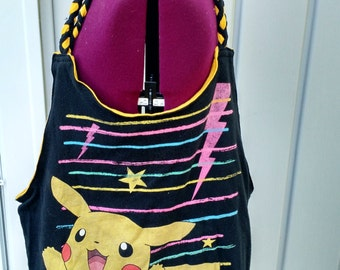 Pikachu Purse - 100% recycled materials