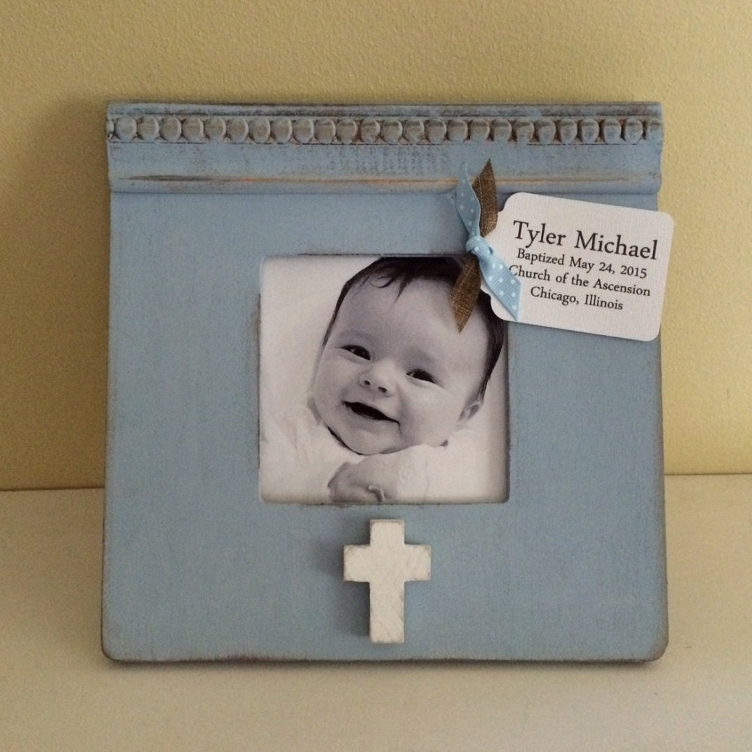 personalized frame baby gift baby shower birth baptism