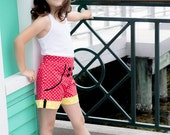 Minnie Mouse Inspired Sailor Shorts by OSoDarling!
