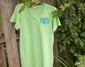 Cover Up - Ladies' Fine Jersey V-Neck Coverup- Personalized just for you with Monogram, Name or Mini Design - GREAT GIFT