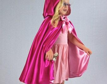Morning Rose Fairy Princess Cape