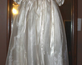 Ivory Christening Gown