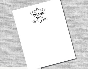 Printable Thank You Card - I Do BBQ - Instant Downloand DIY Digital Files -  #00036-TYA2ID