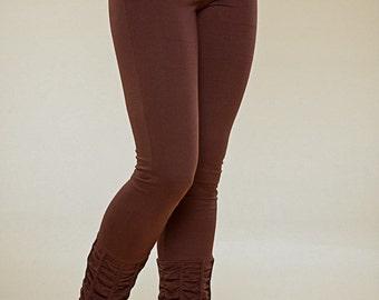 Ruffle Up Leggins- high waist - yoga pants