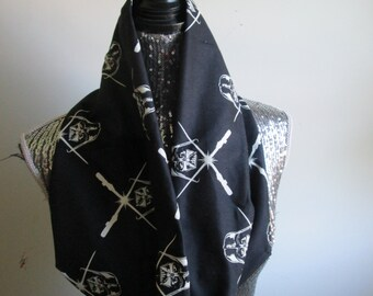 Darth Vader Glow In The Dark Infinity Scarf