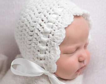 Baby Girl Hats, Baby Girl Bonnet , Newborn Girl Hat, Baby Girl Clothes, Coming Home Outfit, Baby Gift, Infant Hat,  Newborn Bonnet, SS-B300