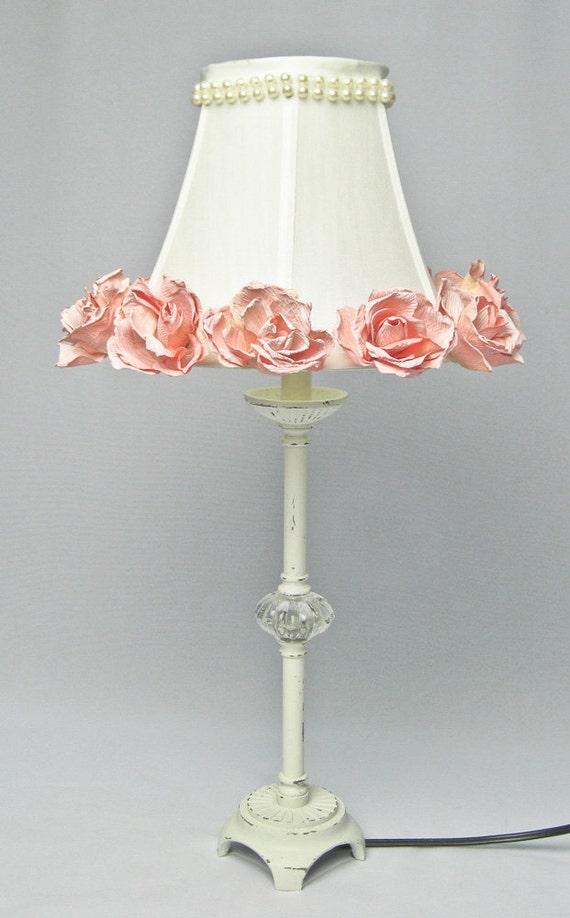 Brilliant  LACE Bedside Table Lamps Light Vintage Shabby Chic Paris  EBay