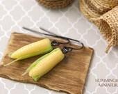 Corn - Dangle Earrings