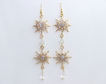 Think of Me Earrings-Gold (Phantom of the Opera)