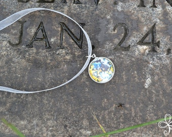 Joanna (January) Moon Pendant Necklace