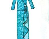 Birch Street Clothing Cascade Skirt Top