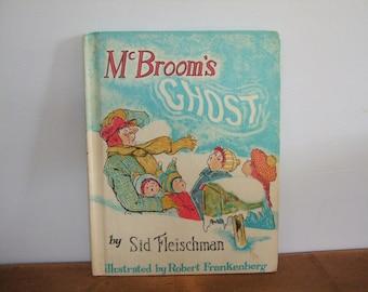McBroom's Ghost by Sid Fleischman Vintage Kid's Book
