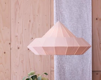 NEW: Woodpecker lamp from birch wood veneer