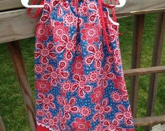 Girl Pillow Case Style Dress