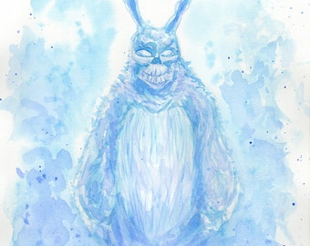 Donnie Darko Watercolor Painting