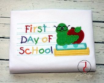 Bookworm Back To School Shirt - Back To School Dress, Back To School Outfit, Bookworm Dress, Bookworm Shirt, School Spirit, School Shirt