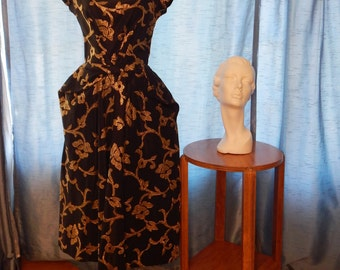 1950's Emma Domb Formal Dress