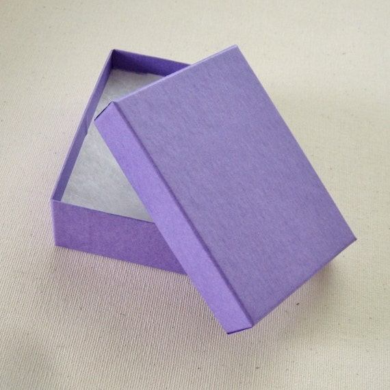 purple cotton filled jewelry boxes 2