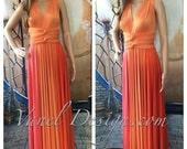 Infinity Dress, Bridesmaids Dresses, Wrap Dresses, Convertible dresses, 3 colors infinity dress
