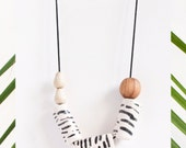 Zebra Necklace - My Jungle