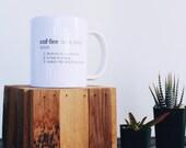 Coffee Definition Mug