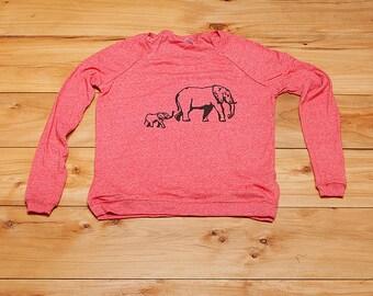 SALE shirt, elephant pullover, size S, XL