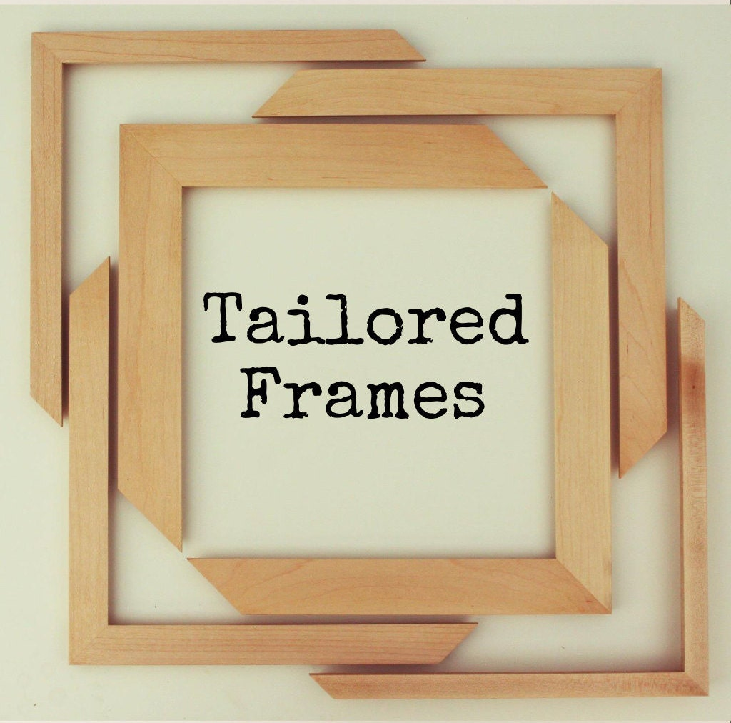 13 x 19 maple frame 1 width by tailoredframes on etsy. Black Bedroom Furniture Sets. Home Design Ideas