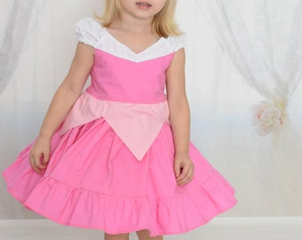 Sleeping Beauty Aurora princess dress