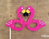 Hot Pink Flamingo Glasses Prop | Beach Party Photo Booth | Beach Party Props | Flamingo Decorations | Flamingo Photo Props