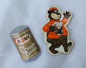 Vintage A&W Root Beer Cream Soda Refrigerator Office Magnets