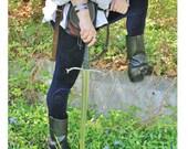 Men's Limited Edition Renaissance Paisley Velvet Leggings -  Choose your size and length
