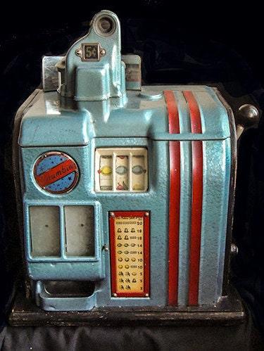 columbia 5 cent slot machine for sale