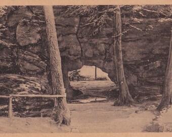 """German Photo Postcard """"Kuhstall, Switzerland / Schweiz"""" M193 / C4403 -- 1940-50?"""