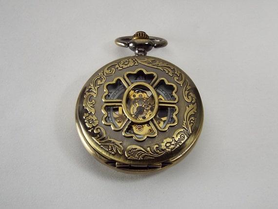 pocket custom engraved bronze finish personalized