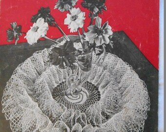 Coats and Clark Ruffled Doilies book Nr 253 Vintage 1960s