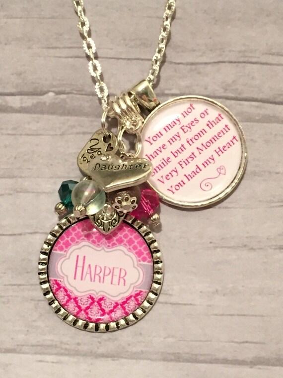 Adoption Gift Necklace Step Daughter Sentimental Keepsake New Daughter Gift Wedding Gift