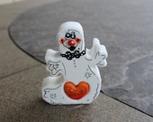 Halloween Decoration Standing Ghost Love Chunk with Three D Nose