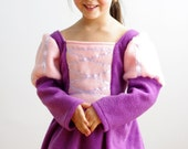 SALE – Ready to ship – Two color princess costume, medieval princess - Size 3 only